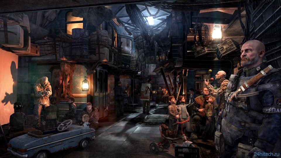 ФОТО: новые скриншоты Metro: Last Light
