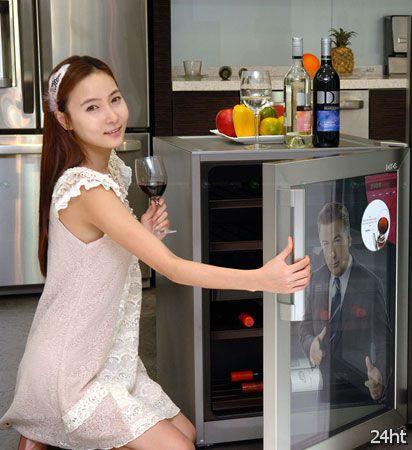 Интеллектуальный винный шкаф от LG