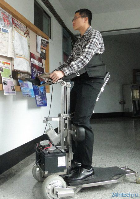 Инвалидная коляска-робот от NCKU