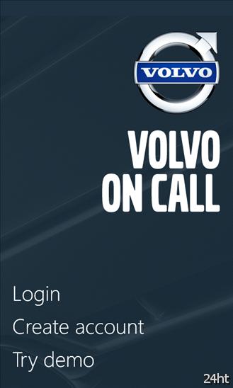 """Компания Volvo выпустила приложение """"Volvo On Call"""" для Windows Phone"""