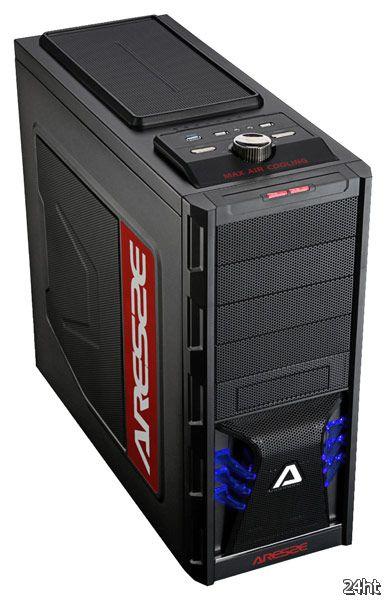 Корпус для ПК Aresze X-Men 7206B имеет девять отсеков для накопителей