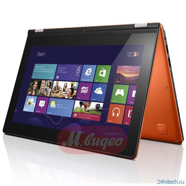 Lenovo Yoga 11 с Windows RT уже в М.Видео