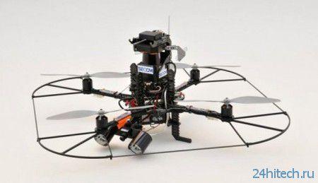 Летающий дрон Secom: невидимый страж порядка