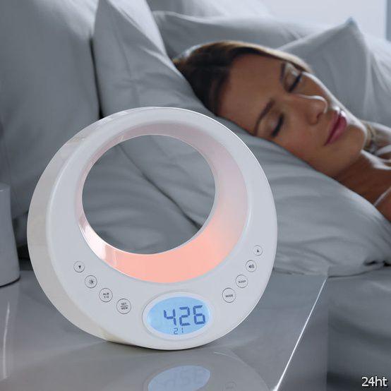 Многофункциональные часы-будильник Rise & Shine Wake Up and Color Changing Light