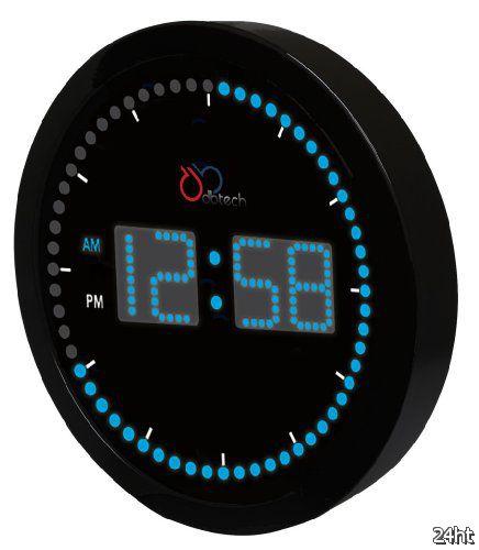 Настенные часы с LED-дисплеем