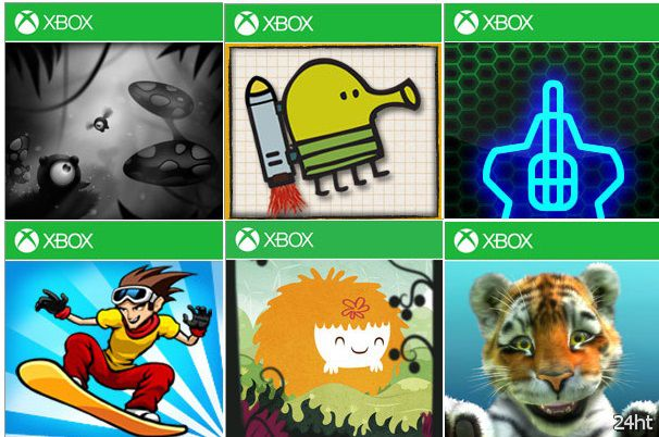 Новогодняя распродажа в Xbox Live для Windows Phone!