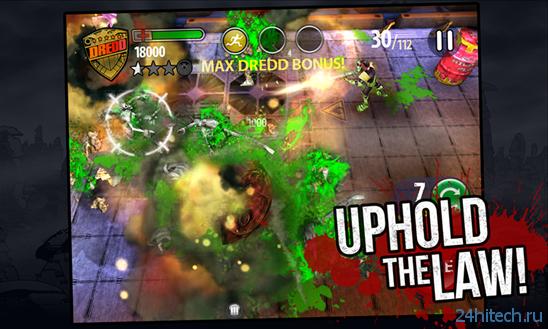 "[Обновлено] Экшен ""Dredd vs. Zombies"" для Windows Phone 8 и Windows 8"