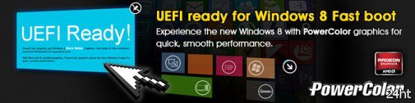 PowerColor улучшает поддержку Windows 8 в своих видеокартах