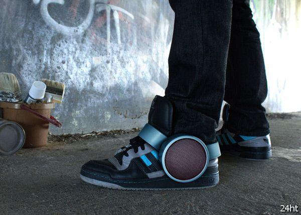 Sneaker Speaker - кроссовки с акустикой
