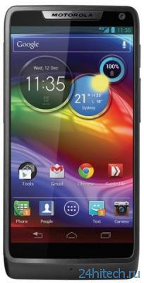 Стильная новинка Motorola получит HD-экран