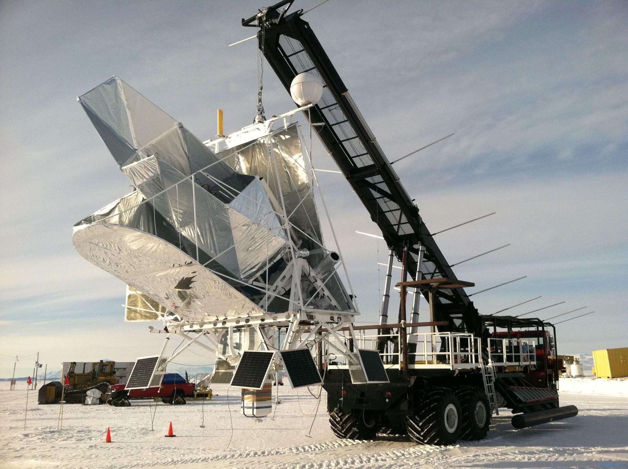 Телескоп BLAST был запущен из Антарктики