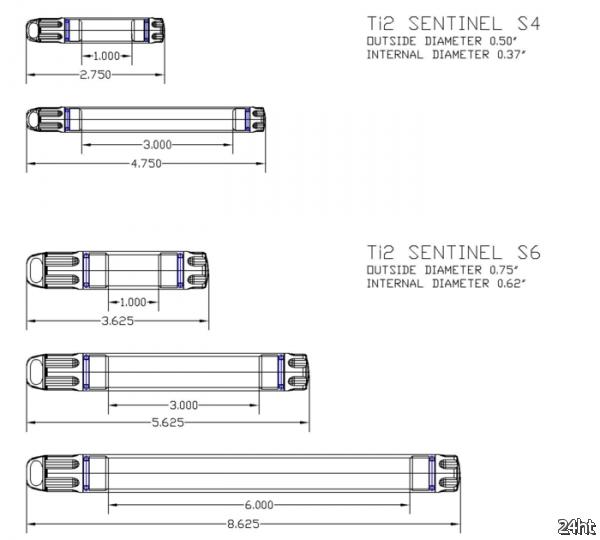 """Ti2 Sentinel — персональные титановые """"хранилища"""""""