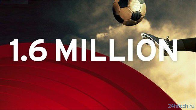 В FIFA Interactive World Cup зарегистрировалось более 1,6 миллиона человек