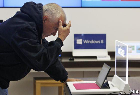 Windows 8 — одно из главных разочарований года