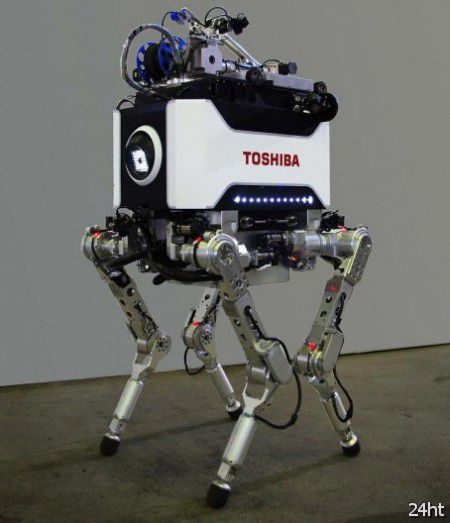 Японские АЭС будут охраняться четвероногими роботами