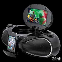 iLive iBPD882B - бумбокс с доком для iPhone