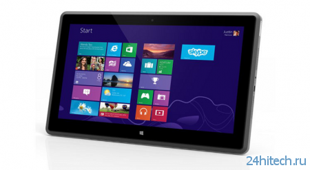 #CES | Vizio представила свой первый планшет на базе Windows 8 Pro