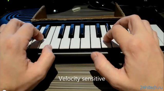 Чувствительная midi клавиатура на arduino Хайтек агрегатор