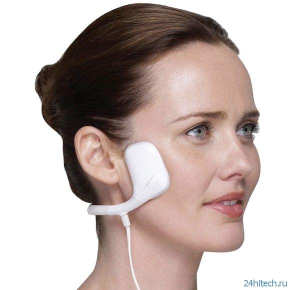 Компактный и удобный массажер для лица