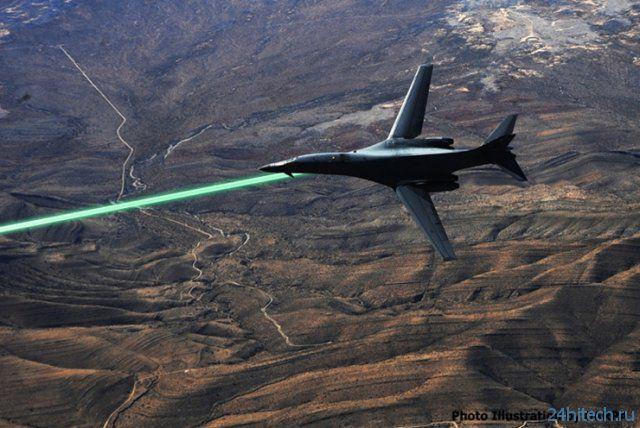 Лазерная турель для истребителя от DARPA