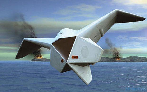Летающий робот-амфибия от DARPA