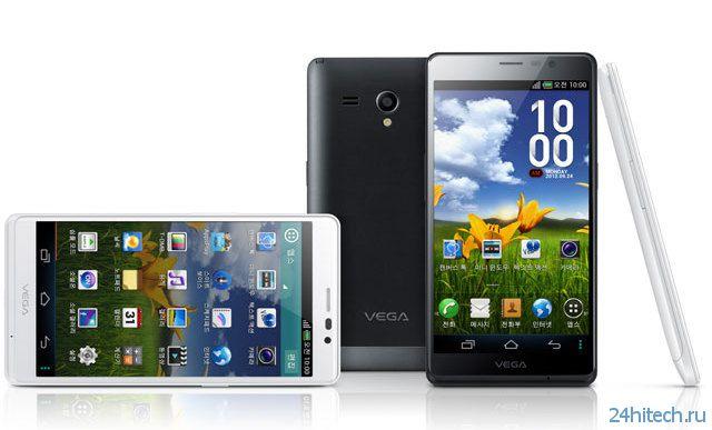 Pantech выпускает новый 6-дюймовый Android-смартфон