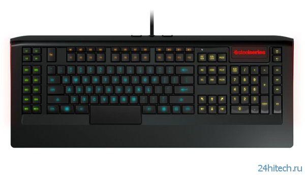 SteelSeries представила программируемые клавиатуры с подсветкой Apex и Apex [RAW]