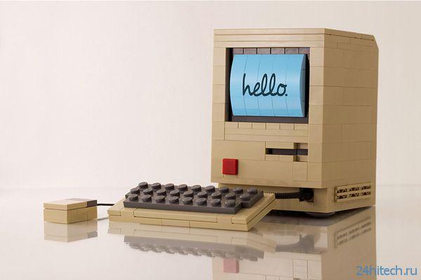 Macintosh из Lego