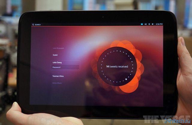 Платформа Ubuntu Touch Developer Preview доступна для аппаратов Nexus