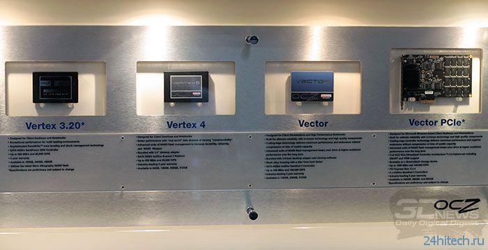 CeBIT 2013: новинки OCZ и демонстрация возможностей Vector PCIe