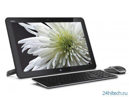 Dell показала 18-дюймовый гибридный планшет