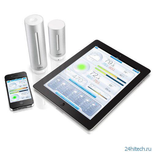 Netatmo - метеорологическая станция для смартфона