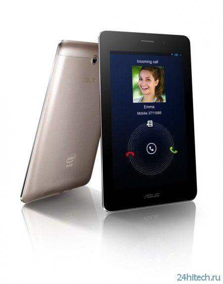 Планшето-телефон Asus FonePad появится в России уже в этом месяце