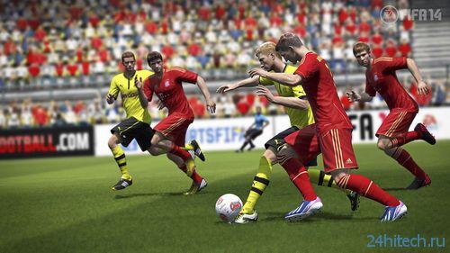 Amazon выдала дату выхода FIFA 14