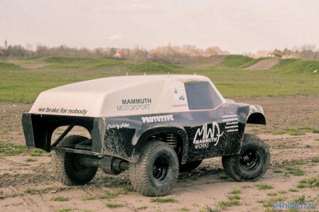 Mammuth Rewarron - самый крутой радиоуправляемый автомобиль (4 фото + видео)