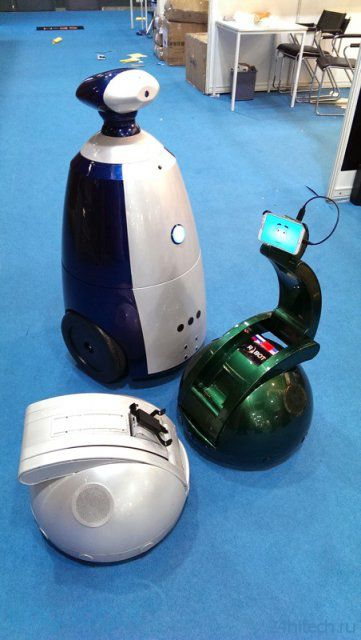 Робот телеприсутствия Synergy Swan (17 фото + видео)