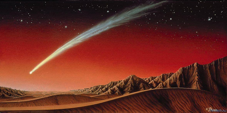 Скорее всего, комета не угрожает Марсу в 2014 году