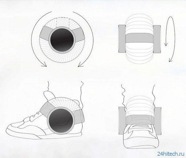 Sneaker Speaker - динамики для кроссовок (5 фото)