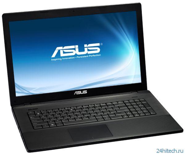 Видеокарта NVIDIA GeForce GT 740M в основе мультимедийного ноутбука ASUS X75VB