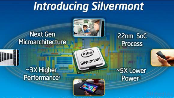 22-нм микроархитектура Intel Silvermont представлена официально