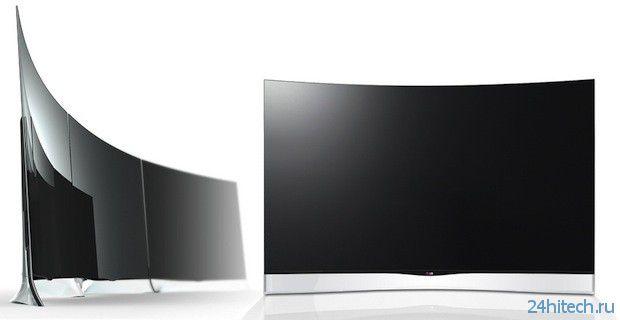 """55"""" телевизор LG 55EA9800 с изогнутым OLED-экраном поступит в продажу в мае"""