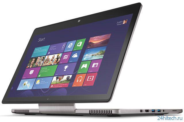 Acer Aspire R7 - гибрид ноутбука, планшета и моноблока (8 фото + 2 видео)
