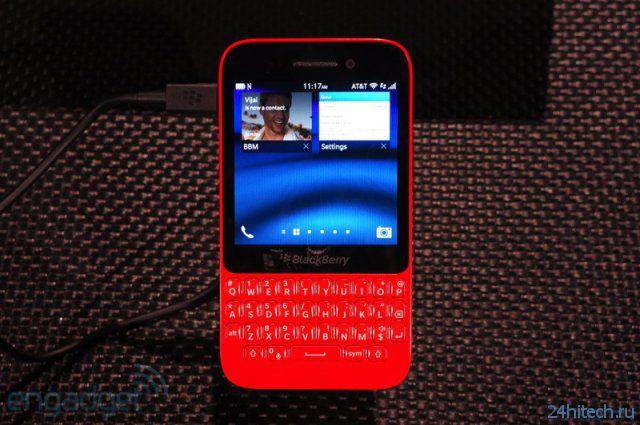 BlackBerry R10 представлен официально (20 фото)