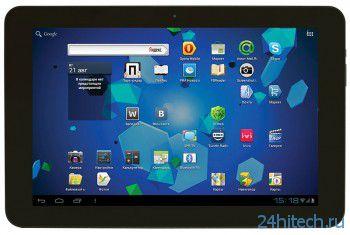 Четырехъядерный планшет Ritmix RMD-1027 на Android 4.1, в мае поступит в продажу