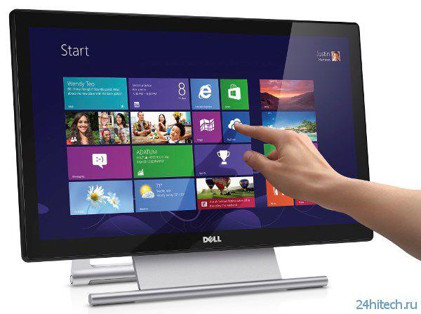 Dell S2240T – сенсорный LCD-монитор для массового рынка