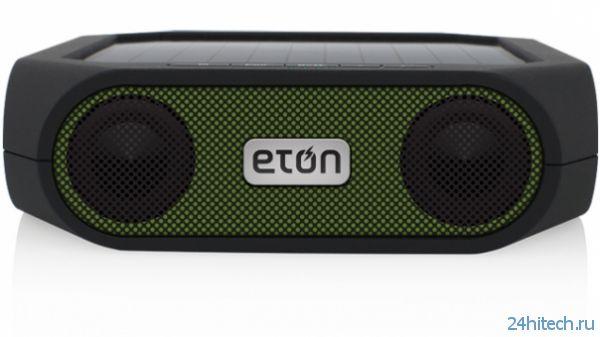 Eton Rugged Rukus – прочные Bluetooth-колонки с солнечной батареей