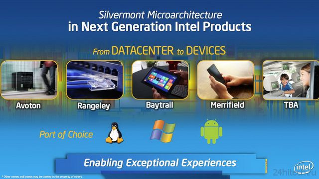Intel Atom Silvermont — новая надежда Windows-планшетов