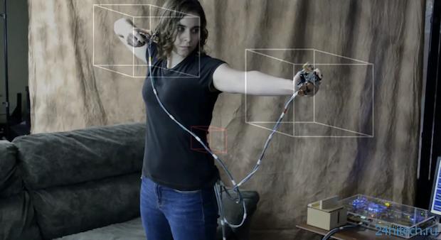 Жестовый интерфейс в стиле Motion Capture (видео)