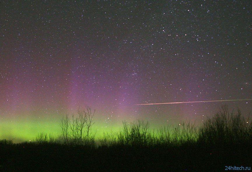 Кадр Дня: Метеорный поток от астрофотографа Боба Кинга