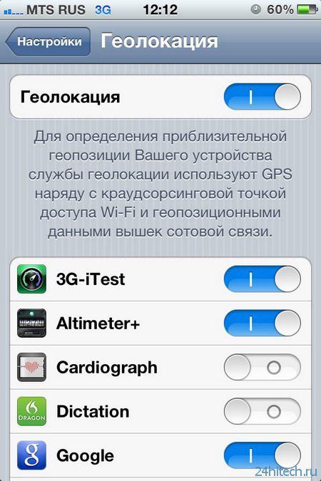 какие службы в android необходимы для работы gps